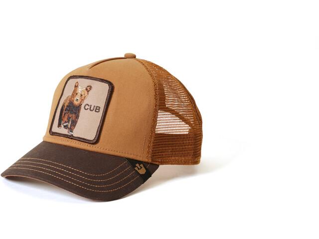 Goorin Bros. Cub Czapka, brown